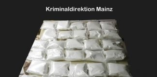 30 Kilogramm Amfetamin, verpackt in 30 Tüten