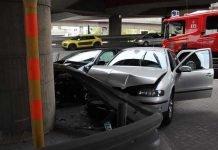 Verkehrsunfall auf der Rheinuferstraße