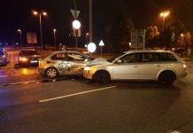 Unfall auf der Hauptstrasse