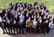 Die neuen Kolleginnen und Kollegen wurden von Polizeipräsident Ebling persönlich begrüßt