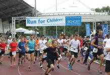 "Benefizlauf ""Run for Children"" (Foto: Alexander Sell)"