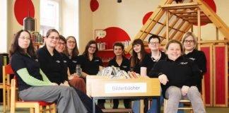 Das Team der Stadtbücherei (Foto: Stadtverwaltung Weinheim)