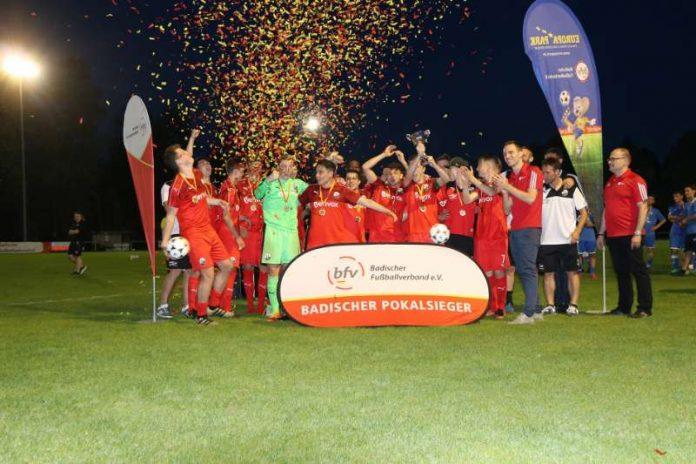 Die A-Junioren des SV Sandhausen (Foto: Badischer Fußballverband)