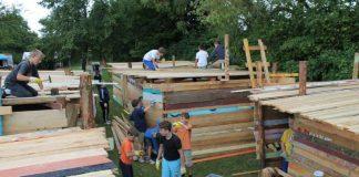 Auch Einsätze bei den Ferienhits, wie dem beliebten Hüttenbau, sind möglich. (Foto: Stadtverwaltung Neustadt)