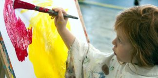 Kinderkunstkurs Bild