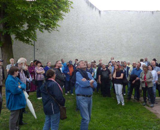 Landratswanderung in Heuchelheim (Foto: Kreisverwaltung Rhein-PFalz-Kreis)