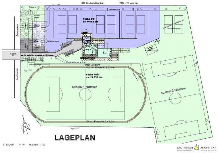 Der Lageplan für das neue Gelände (Foto: Stadtverwaltung Neustadt)