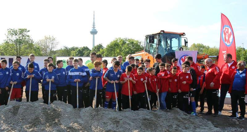 Spatenstich VfR-Jugendzentrum (Foto: VfR Mannheim)