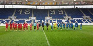 Rasenspieler testeten in der WIRSOL Rhein-Neckar-Arena (Foto: VfR Mannheim)