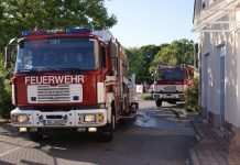 Foto von der Einsatzstelle (Foto: Feuerwehr Darmstadt)