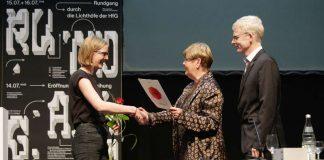 Ernennung von Ingrid Schroff (Foto: HfG Karlsruhe)