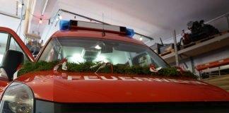 Der neue ELW 1 der Feuerwehr Lambrecht (Foto: Holger Knecht)