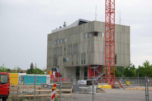 Das Leitstellengebäude in der Zimmerstraße 1 (Foto: Holger Knecht)