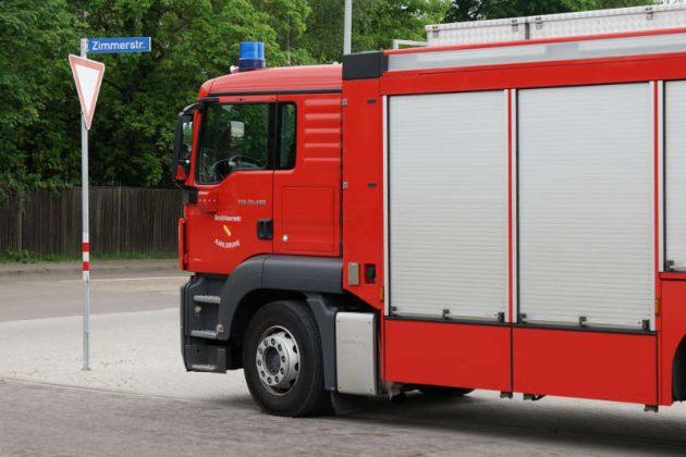 Feuerwehrfahrzeug (Foto: Holger Knecht)a