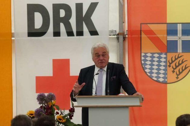 DRK-Kreisvorsitzender Heribert Rech (Foto: Holger Knecht)