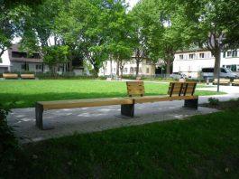 Der ferig gestellte Konrad-Adenauer-Platz (Foto: Stadt Frankenthal)