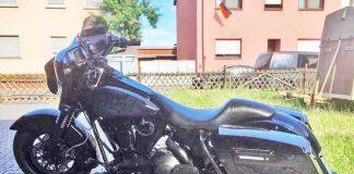 Entwendete Harley Davidson