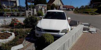 Verkehrsunfall ohne Fahrer - Das passiert nicht jeden Tag