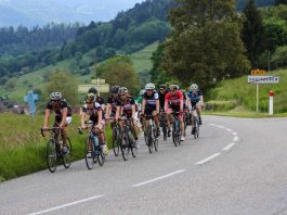 Radsport und freundschaftliche Kontakte verbindet die traditionelle Tour Eucor durch Deutschland, Frankreich und die Schweiz. (Foto: tourEucor e.V.)