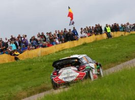 ADAC Rallye Deutschland 2016, StÈphane Lefebvre (FRA) / Gabin Moreau (FRA), CitroÎn DS 3 WRC, WP 5 Ollmuth (Super Special Stage) (Foto: ADAC Motorsport)_