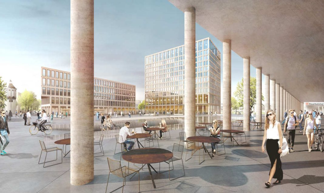Architekten Heidelberg heidelberg bahnhofsvorplatz süd winking froh architekten gewinnen