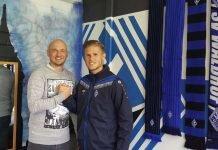 Cheftrainer Gerd Dais und Marcel Seegert (Foto: SV Waldhof)