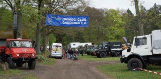 Mehr als 100 Unimogs waren beim Unimogtreffen zu sehen (Foto: Holger Knecht)