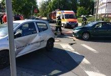 Verkehrsunfall Kreuzung Mannheimer Str. Ecke Rheinstr. (Foto: Feuerwehr Bad Kreuznach)