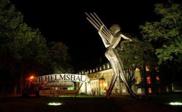 Museum Wilhelmsbau bei Nacht (Foto: Technik Museum Speyer)