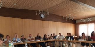 Die Vertreter der acht Krankenhäuser trafen sich (Foto: Kreisverwaltung Rhein-Pfalz-Kreis)