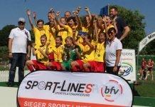 Die siegreichen C-Juniorinnen der TSG Hoffenheim (Foto: Badischer Fußballverband)
