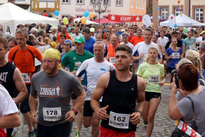Läufer beim 10km-Lauf (Foto: Holger Knecht)