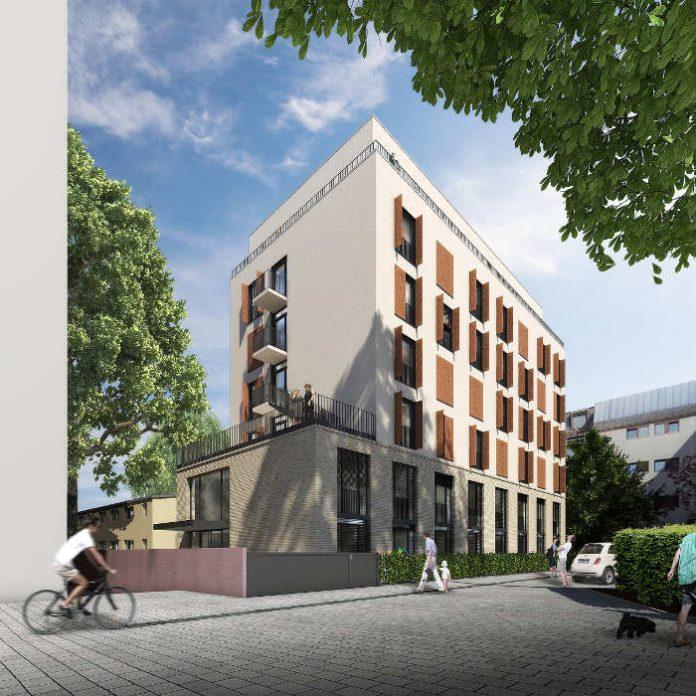 Visualisierung Studentenwohnheim (Quelle: BGF+ Architekten)