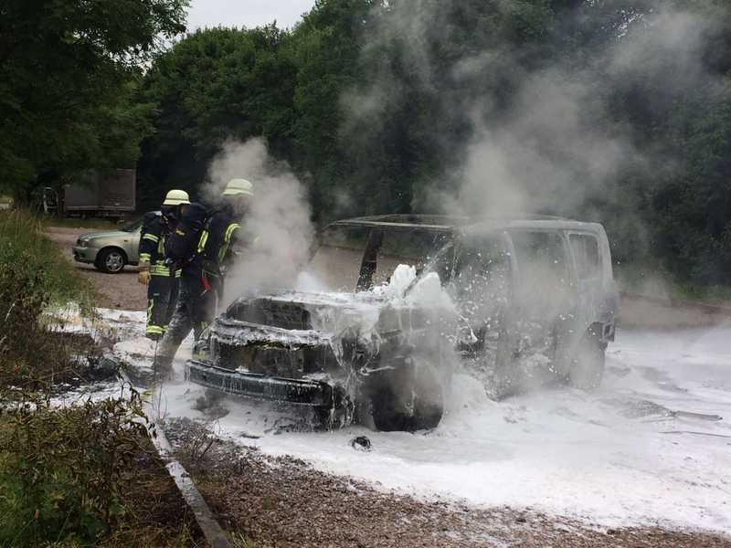 Feuerwehr Dossenheim im Einsatz (Bild: FW Dossenheim)