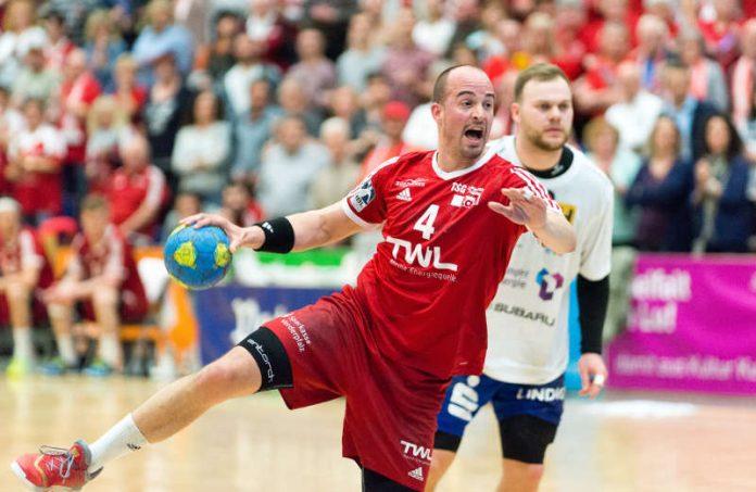 Eine phänomenale Karriere ist zu Ende: Philipp Grimm hört mit dem Handball spielen auf und wird Teammanager bei den Eulen. (Foto: Harry Reis)