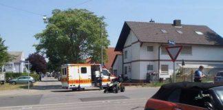 Unfallstelle - Die Polizei sucht weitere, mögliche Zeugen