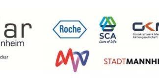 Die Logos der teilnehmenden Unternehmen (Quelle: MVV Energie AG)