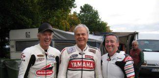 Peter Rubatto und die Weltmeister Dieter Braun sowie Freddie Spencer (von links) freuen sich auf die Jubiläumsveranstaltung in Walldürn (Foto: Michael Sonnick)