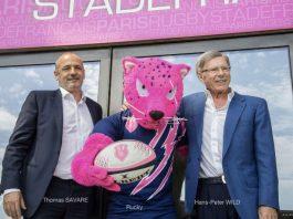 v.l.: Thomas Savare, Rucky, Hans-Peter Wild (Foto: Stade.fr)