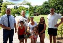 Besucher Schwimmbad