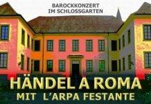 Barockkonzert im Schlossgarten Fußgönheim