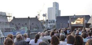Sommerkino auf der Dachterrasse startet am 21. Juli 2017 (Foto: Haus am Dom)
