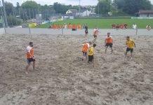 Beachsoccer Herren (Foto: Badischer Fußballverband)