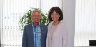 Oberbürgermeisterin Dr. Eva Lohse und VEhRA-Vorsitzender Jürgen Hundemer (Foto: Stadt Ludwigshafen)