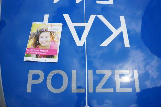 Tag der Polizei auf der Gartenschau (Foto: Holger Knecht)