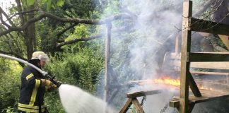 Spielende Kinder entdeckten den Brand