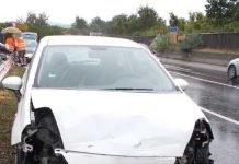 Unfall B 271 - Unfallbeteiligtes Fahrzeug