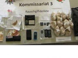 Schlag gegen die Wormser Heroinszene - Sicherstellungen von Drogen im Kilo-Bereich und mehrere Festnahmen Sichergestellte Gegenstände