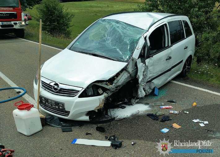 Der zerstörte Opel
