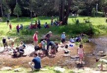 Sommerlicher Familienspaß am Albufer. (Foto: Gartenschau Bad Herrenalb 2017)